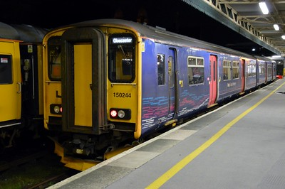150 244 Bristol Temple Meads 31 March 2016