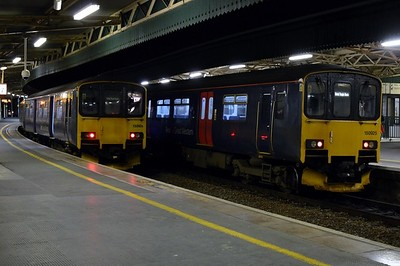 150 926 & 150 925 Bristol Temple Meads 31 March 2016