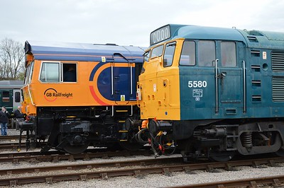 66 757 & 5580 St Phillips Marsh Depot Bristol 2 May 2016