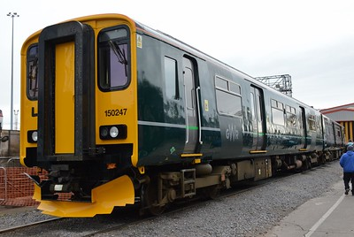 150 247 St Phillips Marsh Depot Bristol 2 May 2016