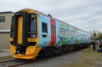 158 798 St Phillips Marsh Depot Bristol 2 May 2016