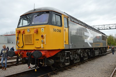 56 098 St Phillips Marsh Depot Bristol 2 May 2016