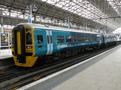 158 840 Manchester Piccadilly 9 June 2011