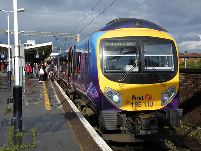 185 113 Manchester Piccadilly 8 June 2011 On a service to Edinburgh from Manchester Airport