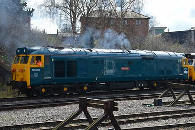 50 007 Leicester 31 March 2016