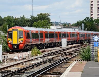 387 219 East Croydon 25 July 2016