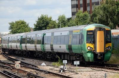 377 443 East Croydon 25 July 2016