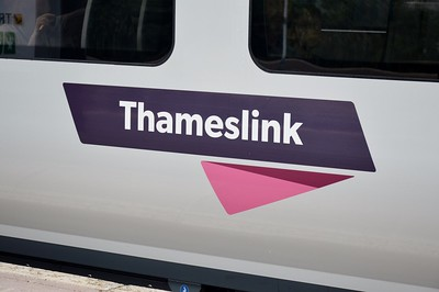 Thameslink logo on 700 109 25 July 2016