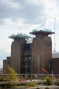 Battersea power station minus chimneys 25 July 2016