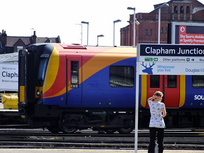 450031 Clapham Junction 21 August 2013