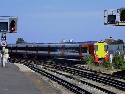 458027 Clapham Junction 21 August 2013