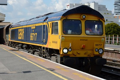 66 717 Clapham Junction 1 September 2017