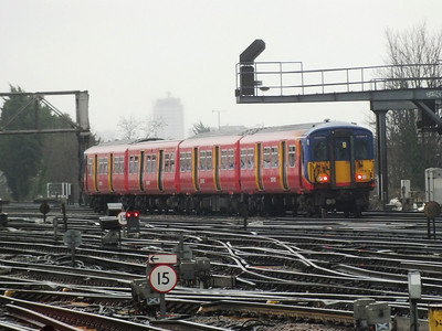 455 708 Clapham Junction 29 December 2012