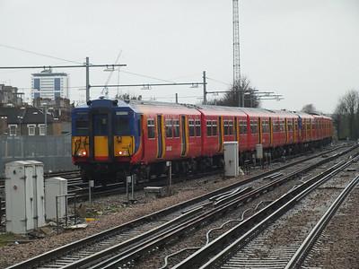 455 864 Clapham Junction 29 December 2012