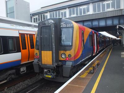 450 557 Clapham Junction 29 December 2012
