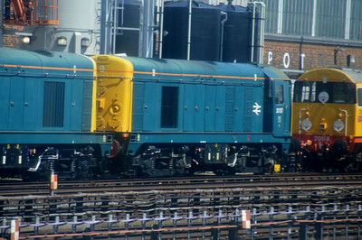 20 107  Neasden Depot 14 July 2014