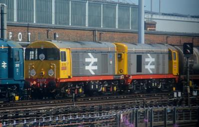 20 118 & 20 132  Neasden Depot 14 July 2014