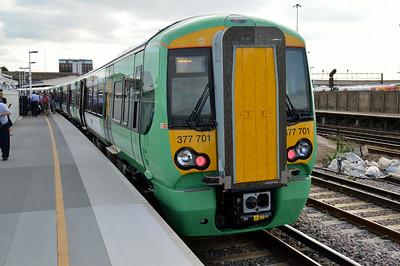 377 701 Clapham Junction 14 July 2014
