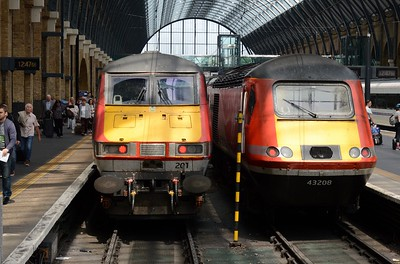 82 201 & 43 208 Kings X 22 July 2016