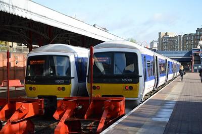 165 022 & 165 029 Marylebone 6 May 2015