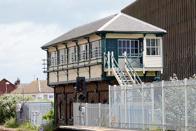 Signal box Eastbourne 6 June 2017