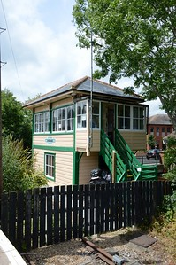 Former signal box Uckfield 5 June 2017