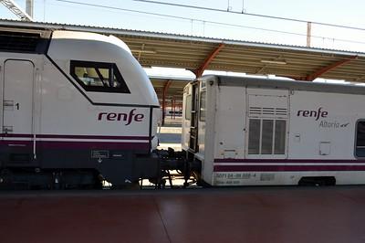 334 016 & Talgo set Madrid Chamartin 28 November 2015