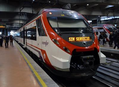 465 019 Madrid Atocha 26 November 2015