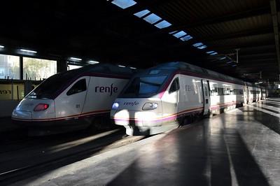 104 601 & 104 609 Madrid Atocha 27 November 2015