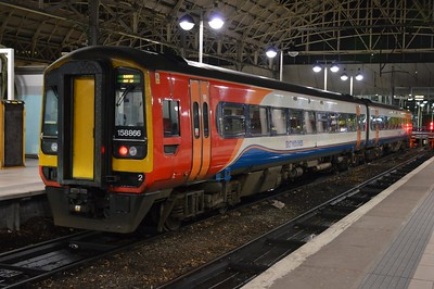 158 866 Manchester Piccadilly 4 December 2016