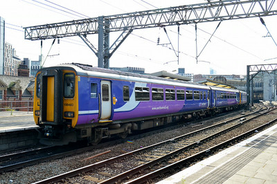 156 483 Manchester Piccadilly 22 June 2014
