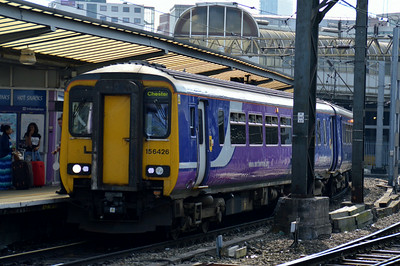 156 426 Manchester Piccadilly 22 June 2014