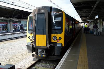 350 407 Manchester Airport 21 June 2014