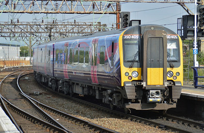 350 405 Manchester Piccadilly 22 June 2014