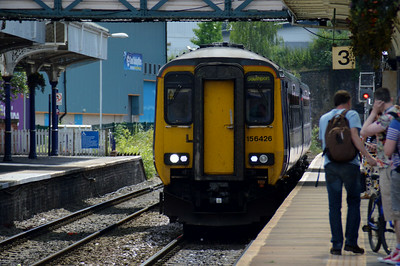 156 426 Altrincham 22 June 2014 Sunday Chester to Southport service.