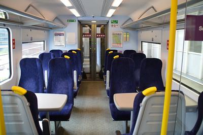 Interior of Trans Pennine 350 407 21 June 2014