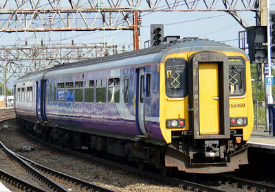 156 489 Manchester Piccadilly 22 June 2014