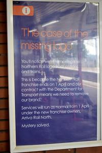 Notice at Wigan North Western 21 August 2016