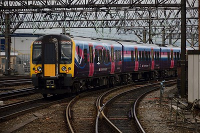 350 406 Manchester Piccadilly 22 August 2016