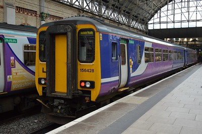 156 428 Manchester Piccadilly 22 August 2016
