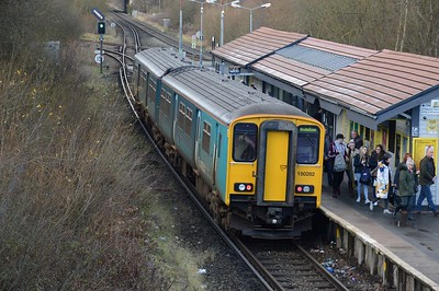 150282 at Bidston 28 December 2017
