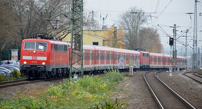 111 155 & 111 150 Bochum Hbf 24 November 2016