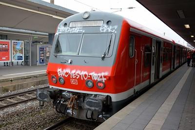 DVT Bochum Hbf 24 November 2016