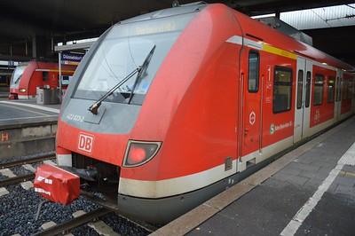 422 023 Dusseldorf Hbf 24 November 2016