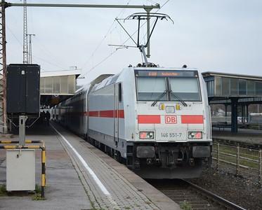 146 551 Oberhausen Hbf 24 November 2016