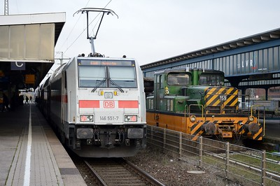 146 551 & 159 Oberhausen Hbf 24 November 2016