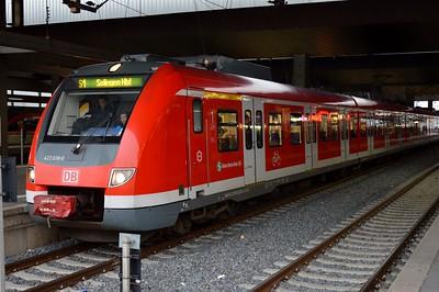 422 038 Dusseldorf Hbf 24 November 2016