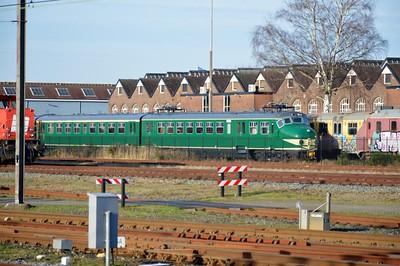 Preserved set at Amersfoort 30 December 2015