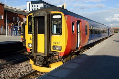 156 401 Nottingham 30 March 2016