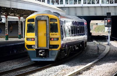 158 791 Nottingham 30 March 2016